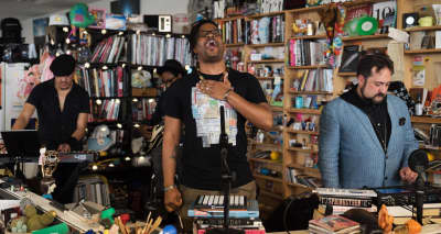 Watch Open Mike Eagle's Tiny Desk Concert