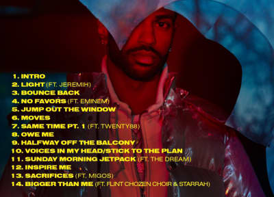 Big Sean Shares I Decided Tracklist Featuring Migos, Eminem, And Jeremih