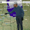 Chance the Rapper gave a weather report on Chicago morning news