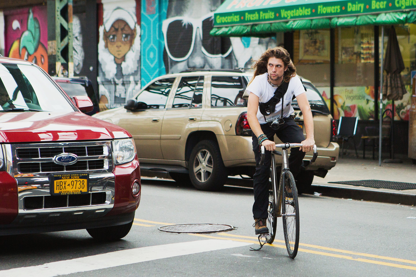 Sehr Cooper Ray Explains The Hidden New York That Only Bike Messengers  TZ38