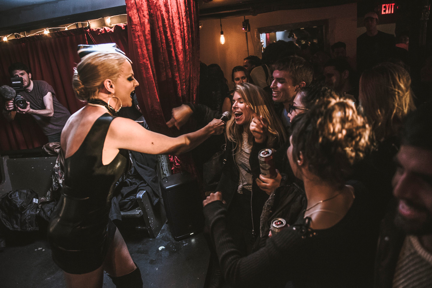 Courtney Act Slayed Last Night's FADER 101 Release Party
