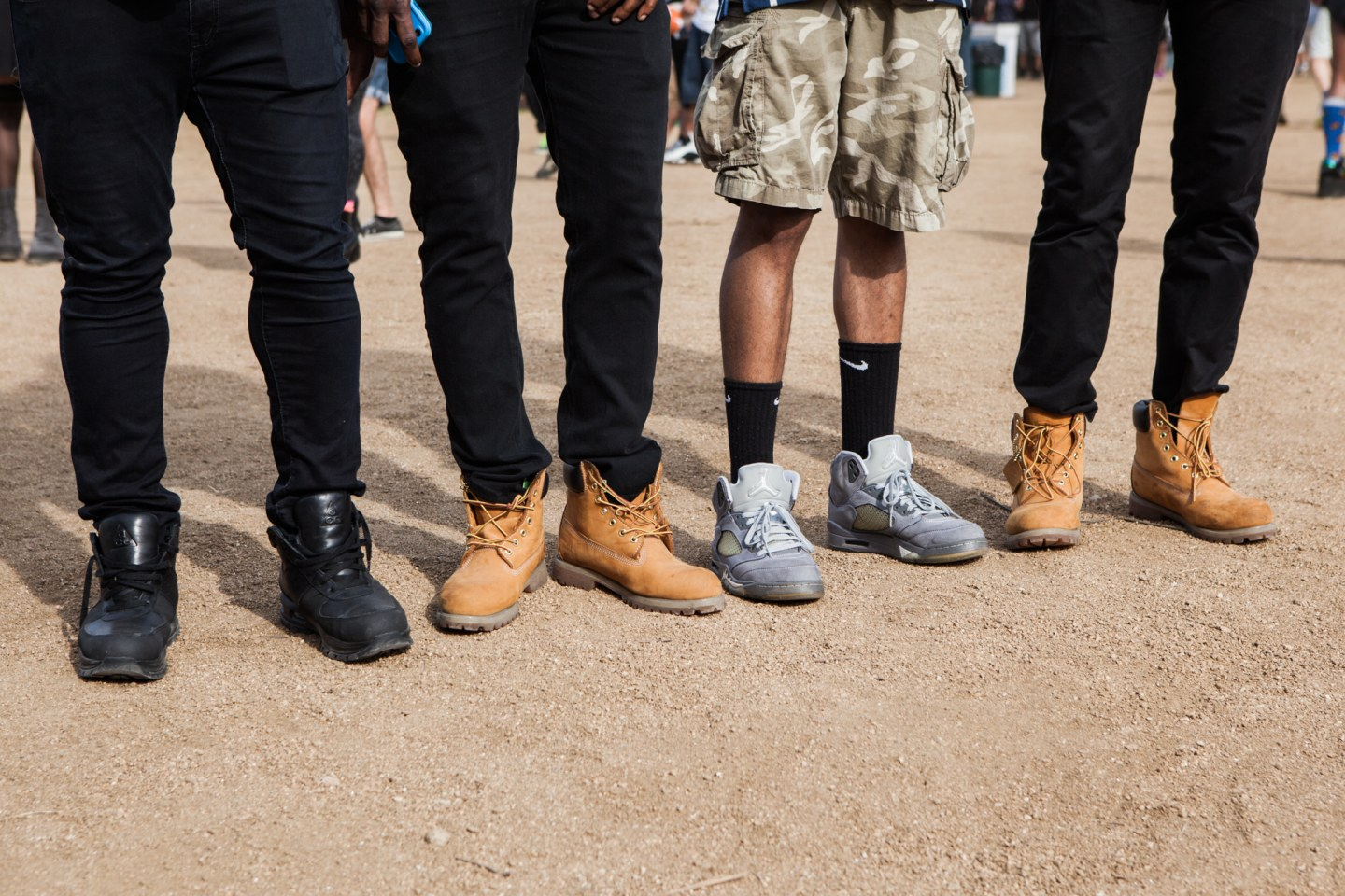 The 9 Most Stylish Squads At The FADER Fort