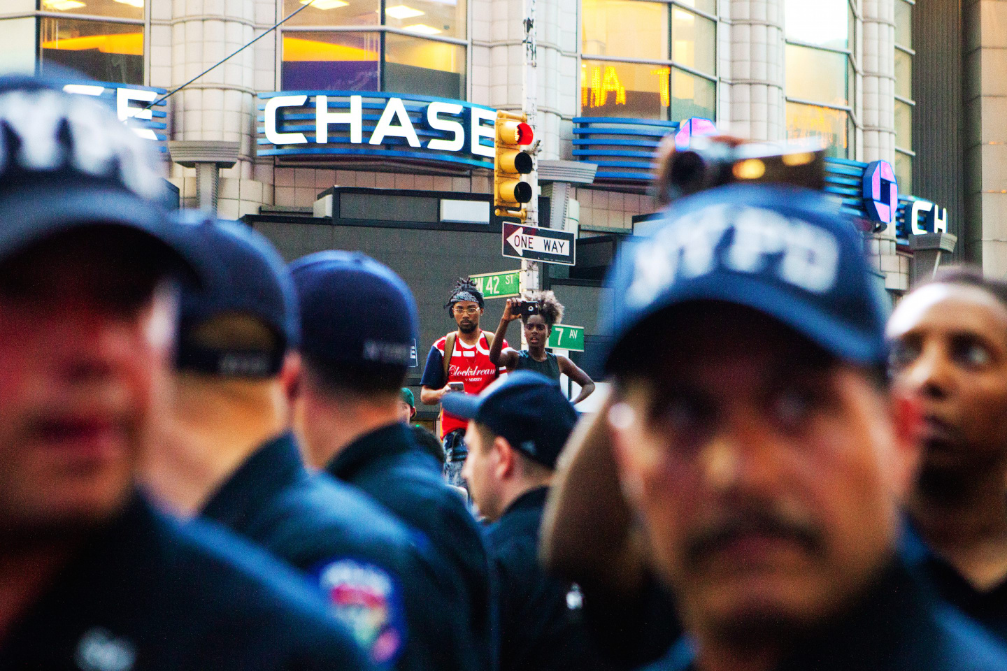 See Powerful Photos From Thursday Night's March In New York City