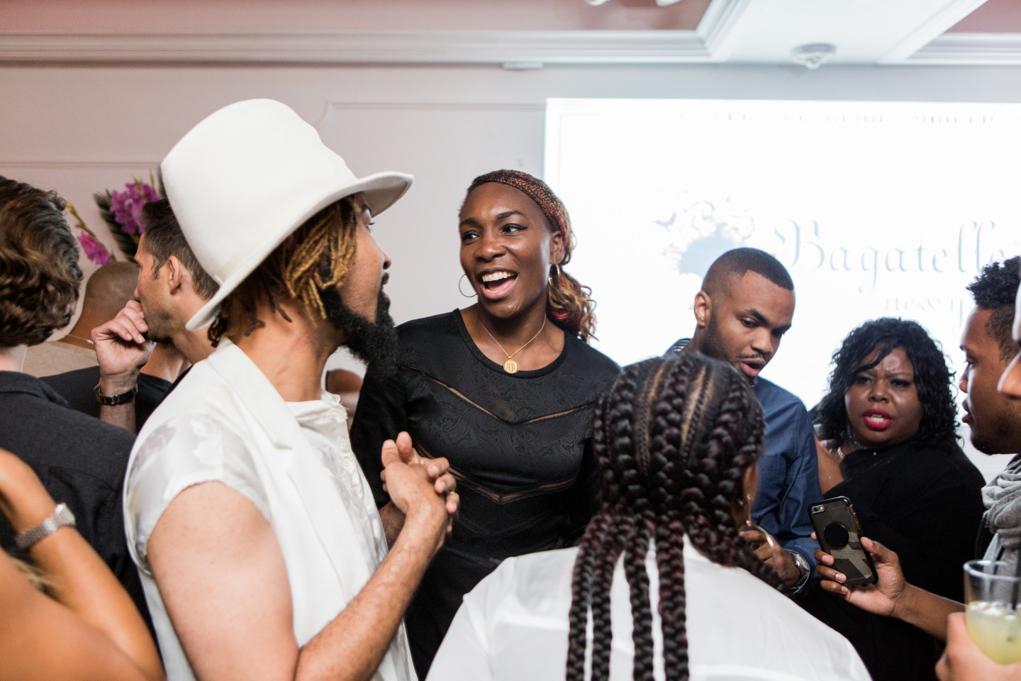 What It Looked Like Inside Serena Williams's Fashion Week After-Party