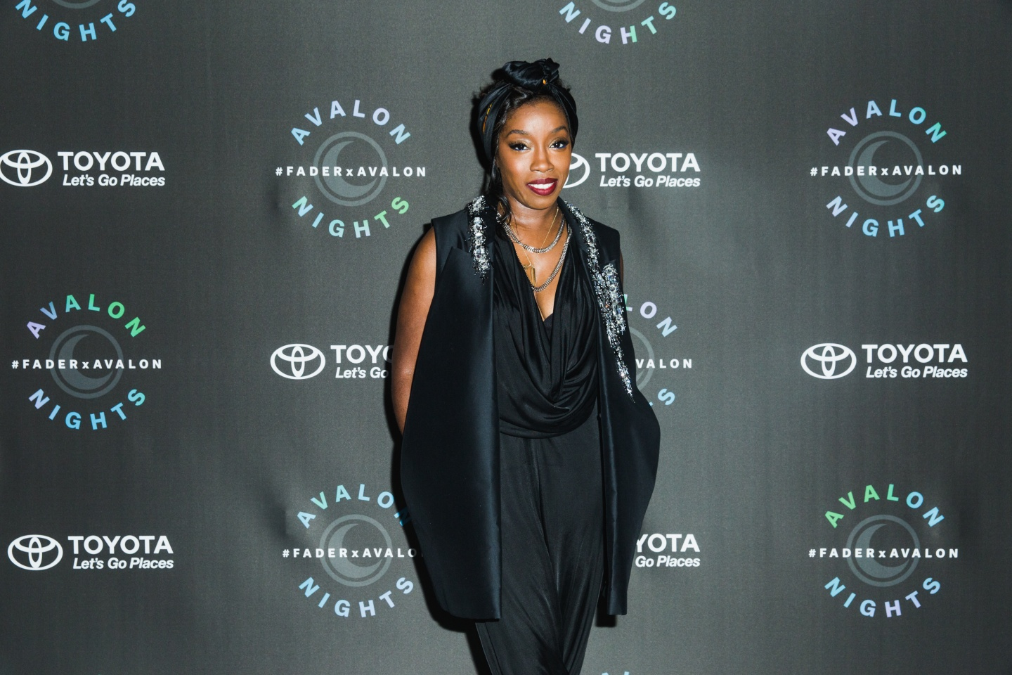 Estelle Rocked Night Two Of FADER x Toyota Avalon Nights