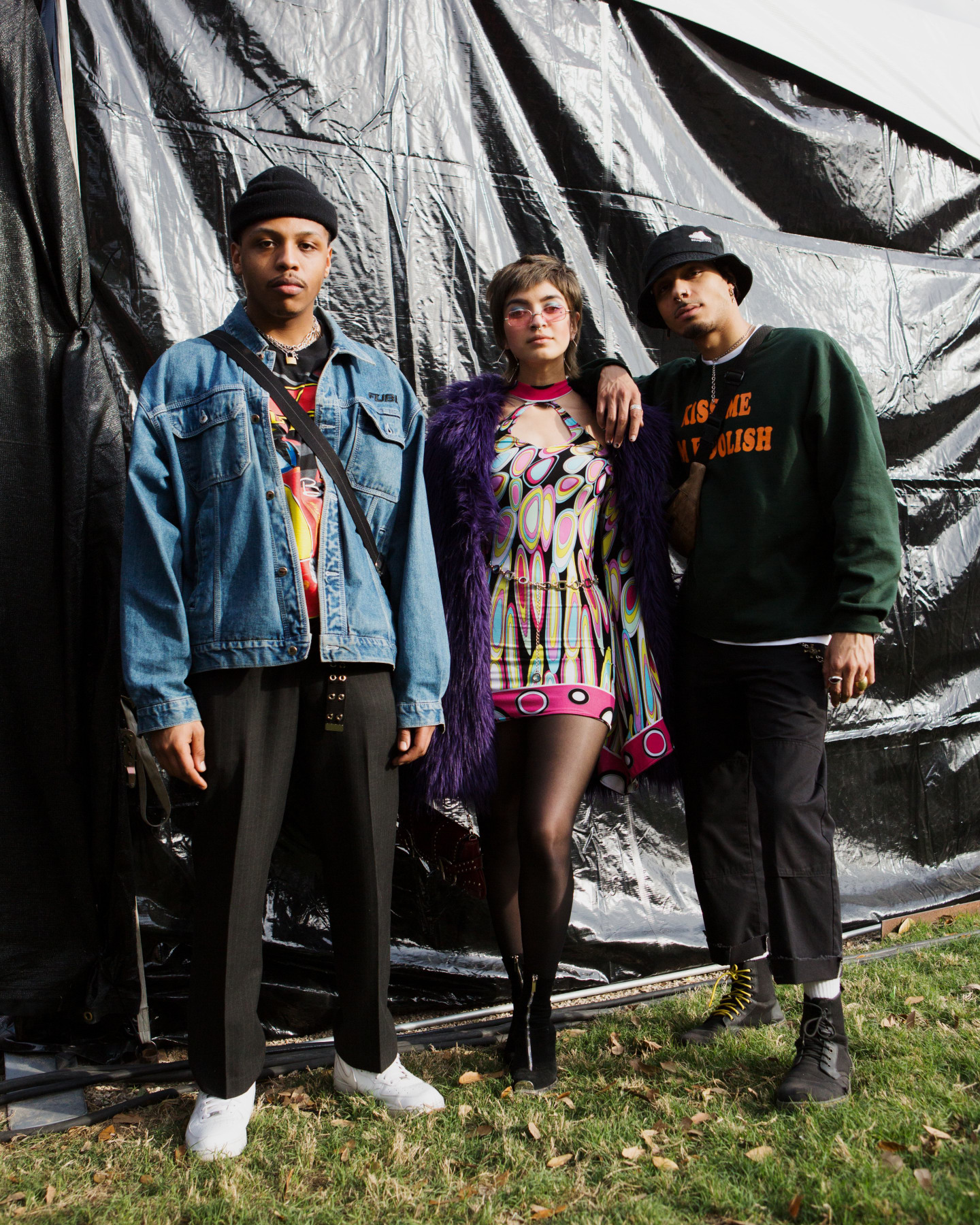 The 14 best dressed squads at FADER FORT