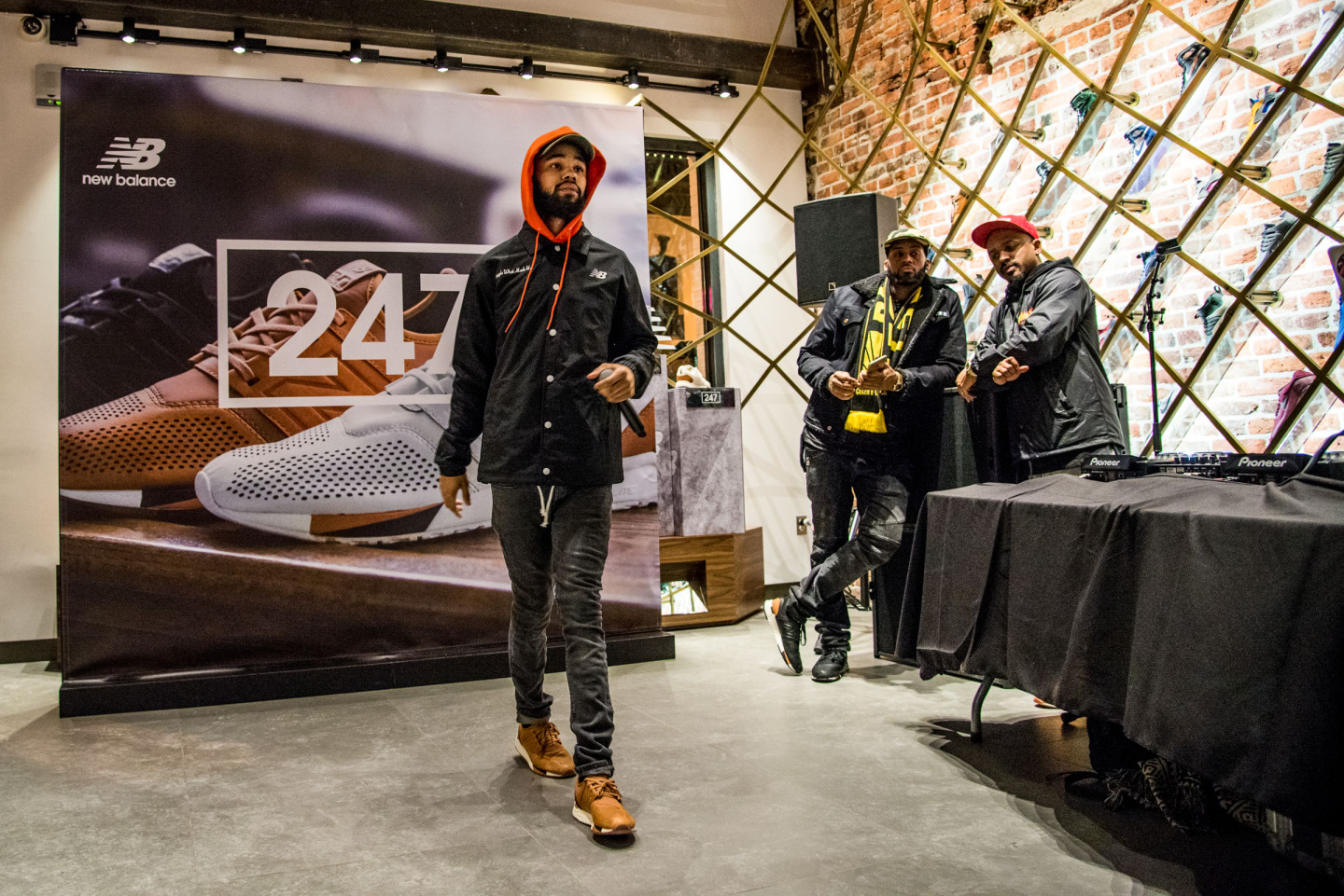 See Photos Of Fabolous, Jadakiss, PnB Rock, And More At New Balance's Luxe Launch Events