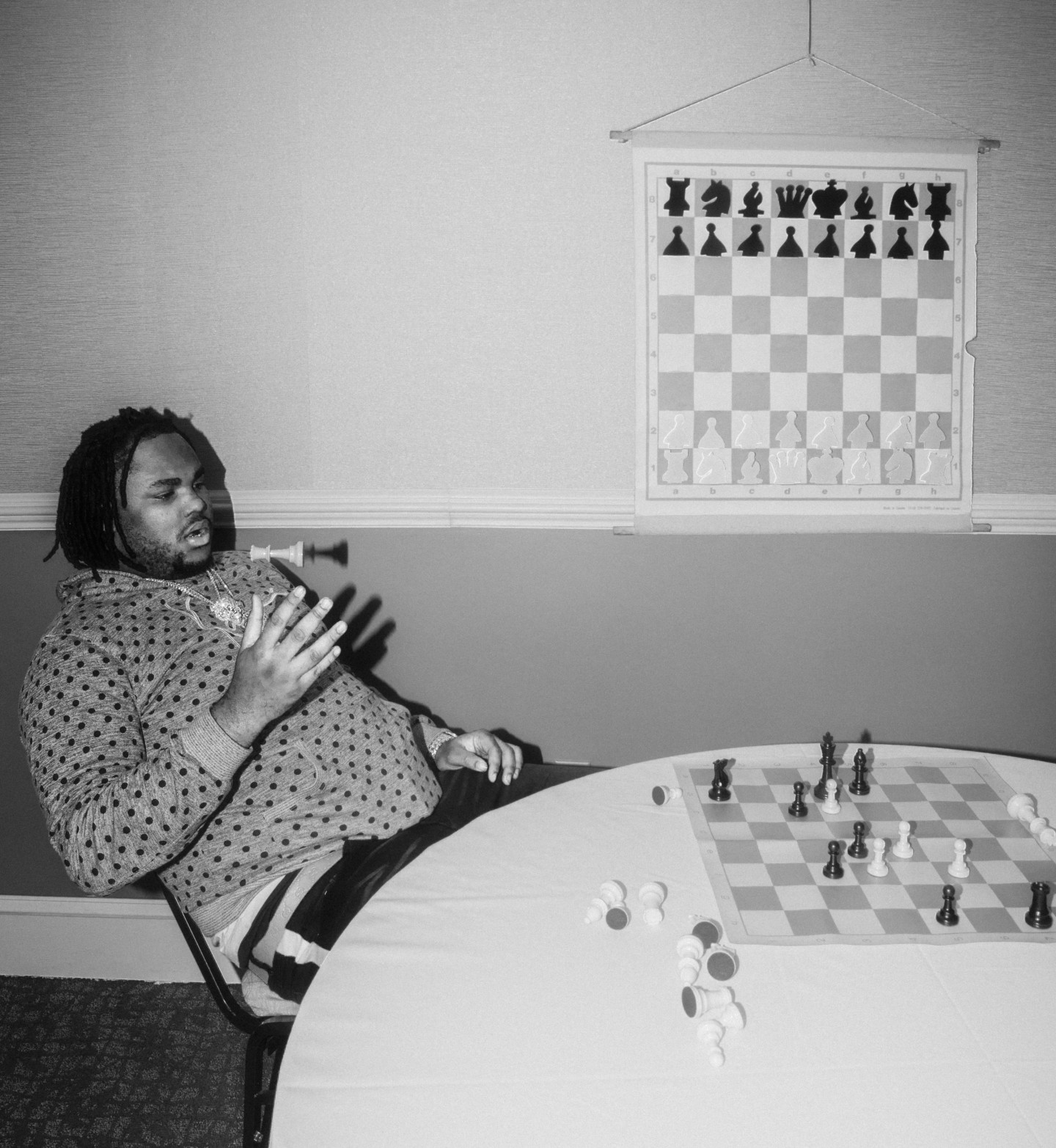 The King and I: a game of chess with Tee Grizzley