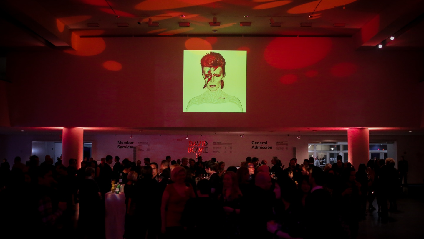 """Everyone showed out at Brooklyn Museum's """"David Bowie Is"""" exhibit"""