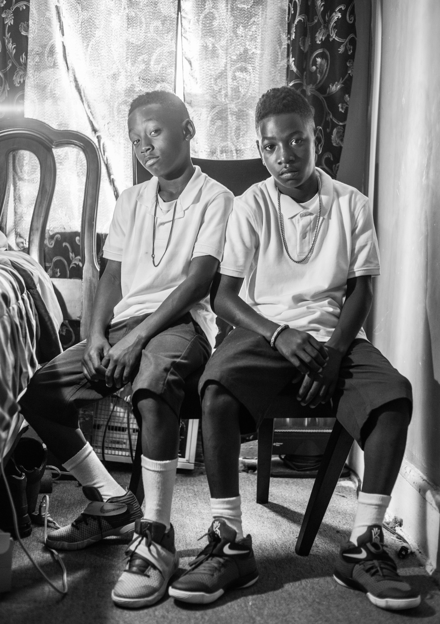11-Year-Old Twins On How To Earn Respect