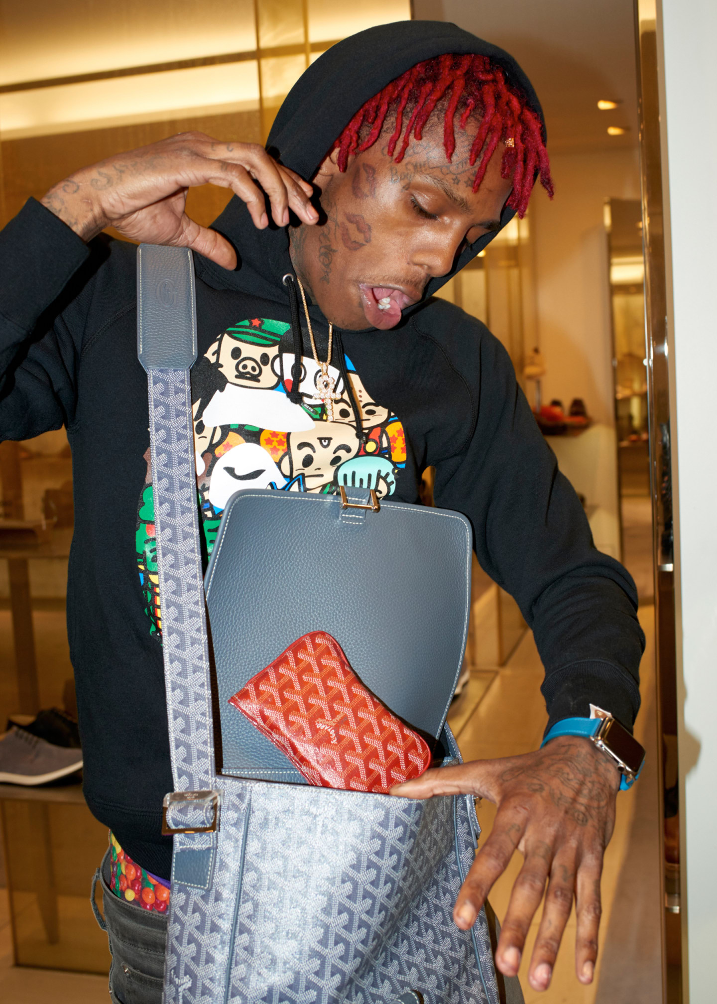 Famous Dex Has A Lot Of Energy