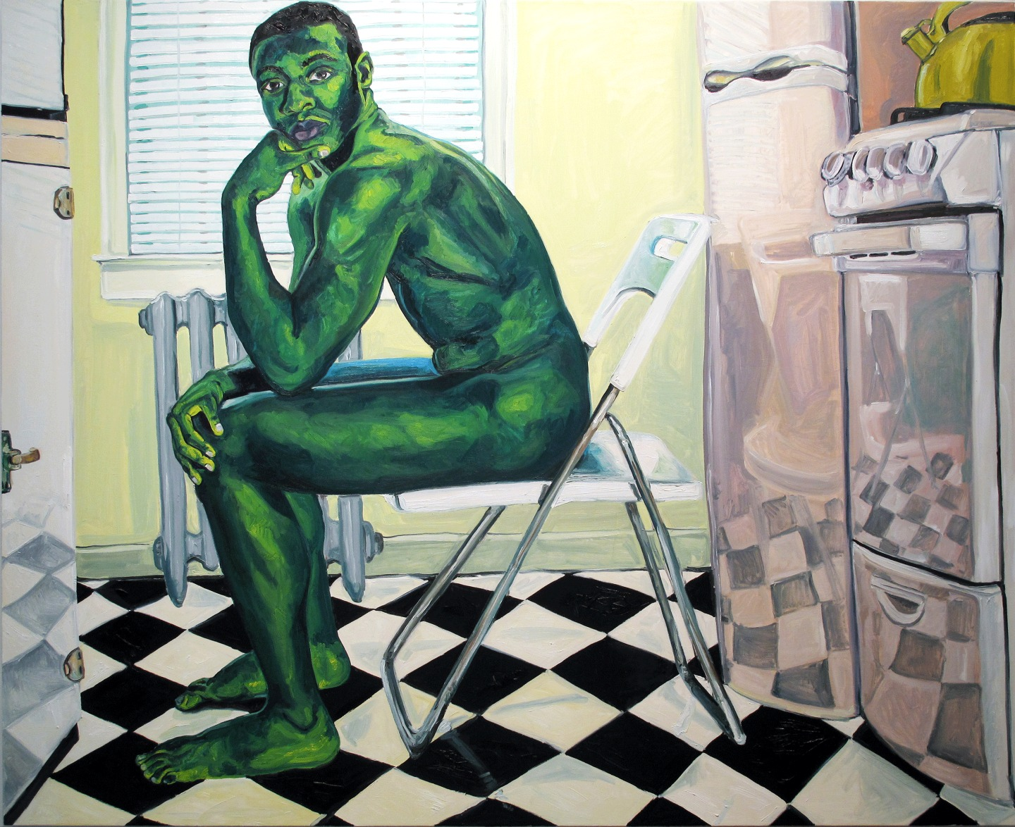 This Artist Wants You To See The Fullness Of Black Men's Lives