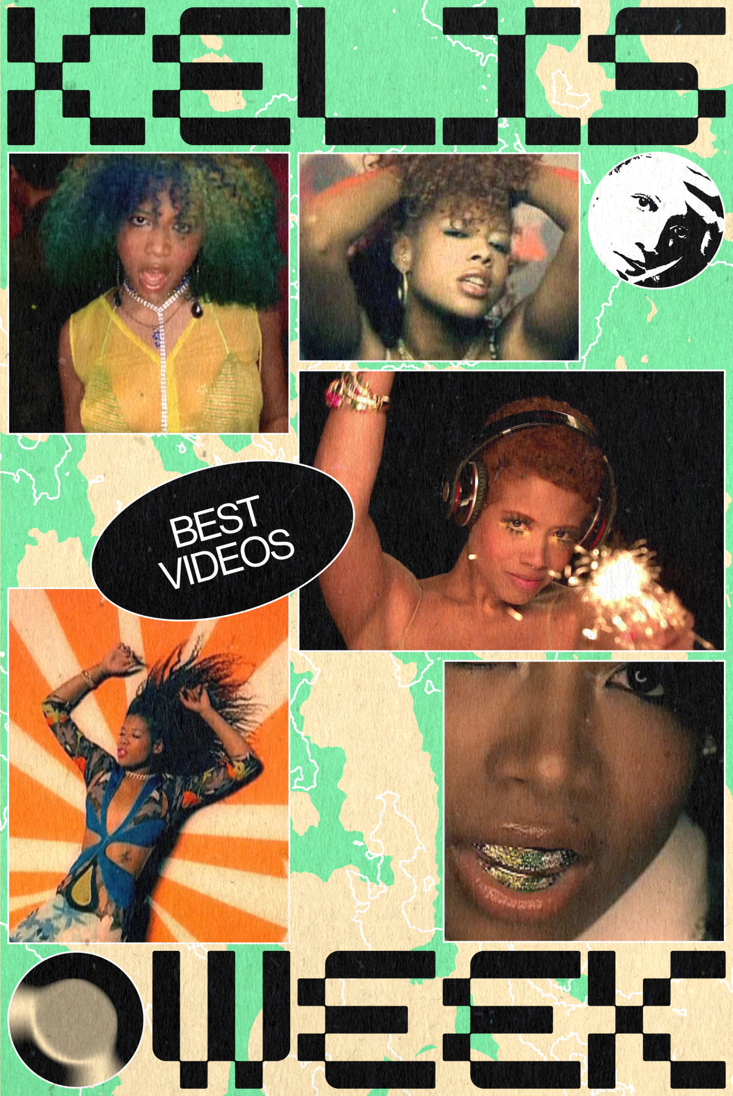 All of Kelis's music videos are works of art