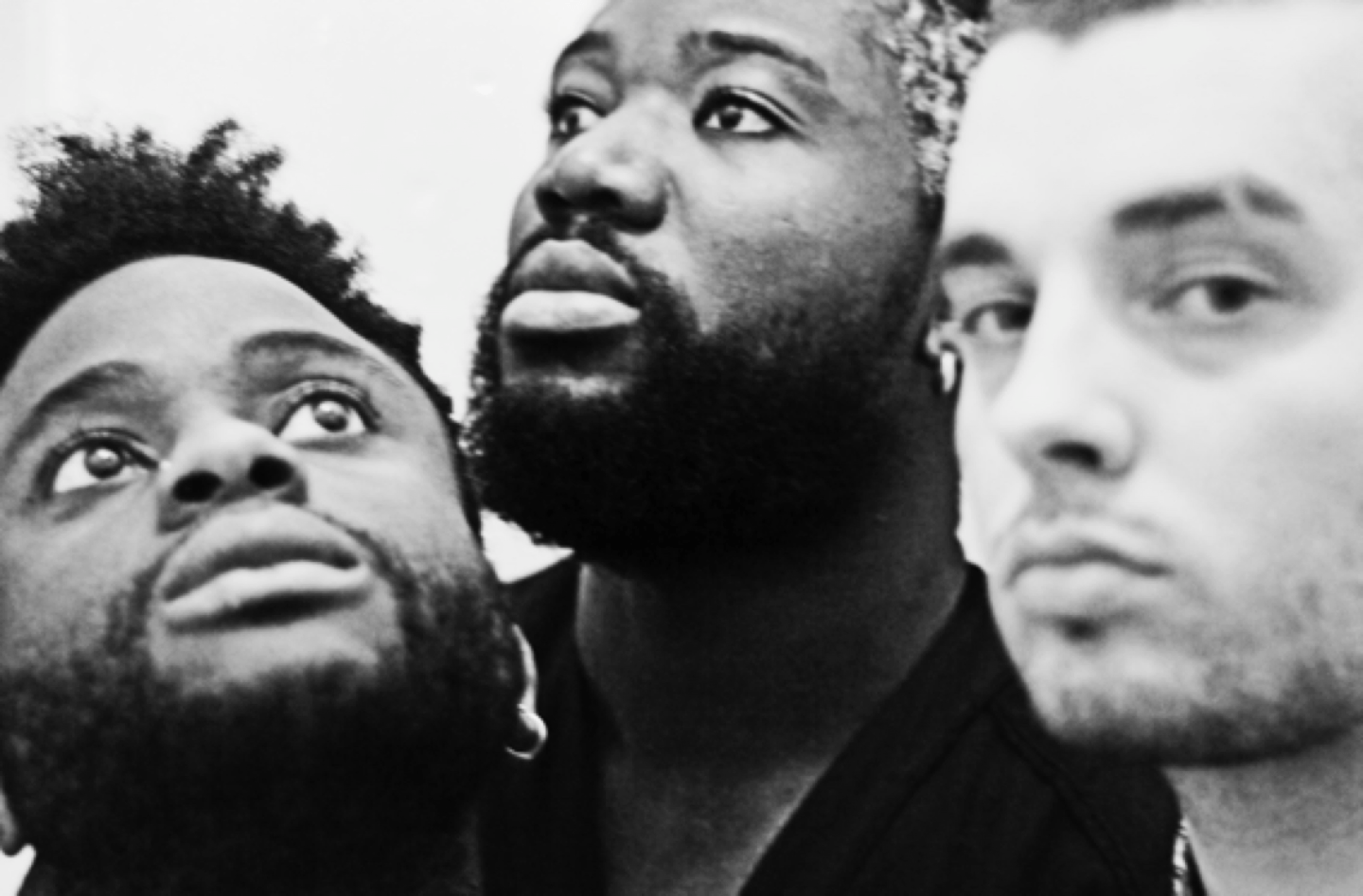 How Young Fathers's Early Mixtapes Helped Them Find Beauty In Their Weirdness