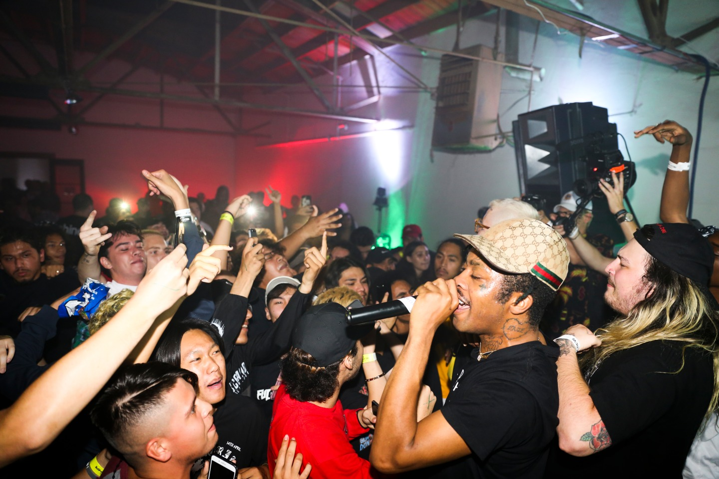 All The Pictures You Need To See From Fat Nick And Lil Tracy's Intimate L.A. Show
