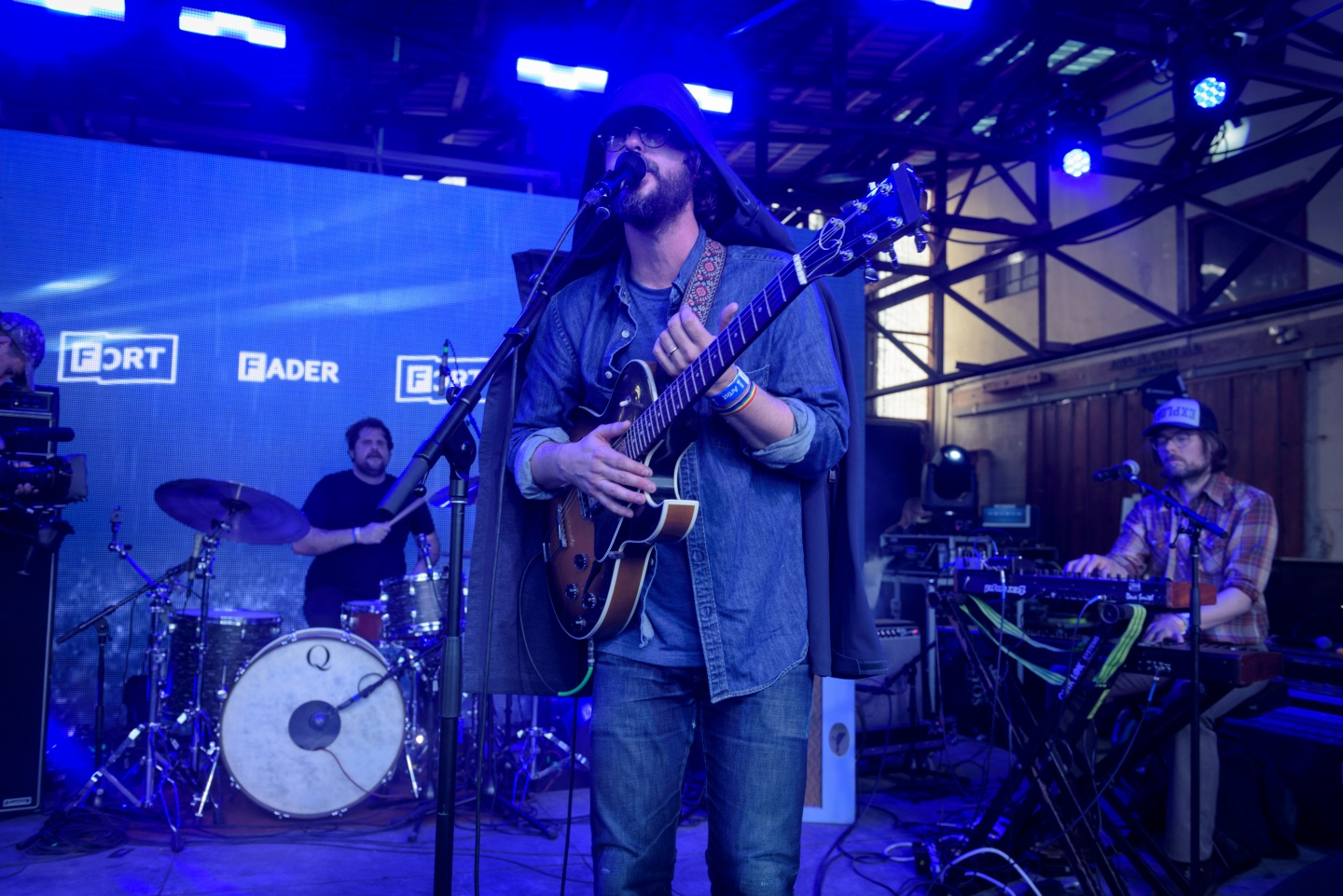 Despite Clear Skies, White Denim Brought The Rain To FADER FORT
