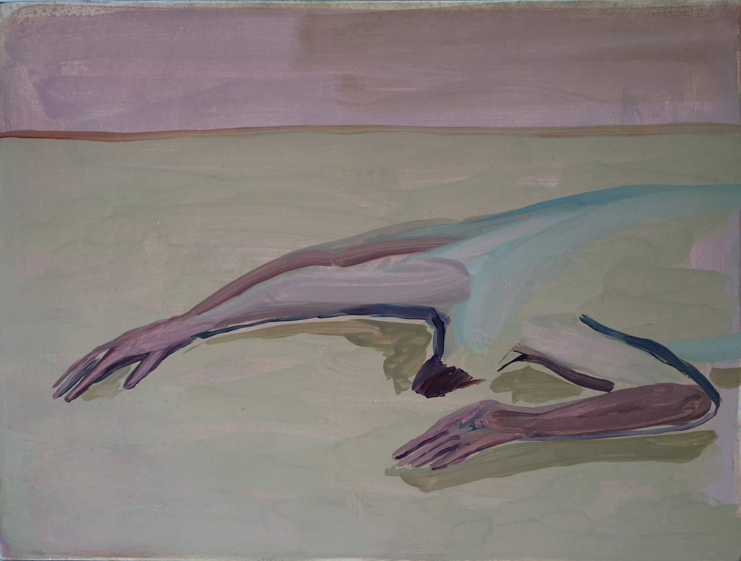 Eve Ackroyd's Paintings Of Male Nudes Flip The Script On Woman-As-Muse