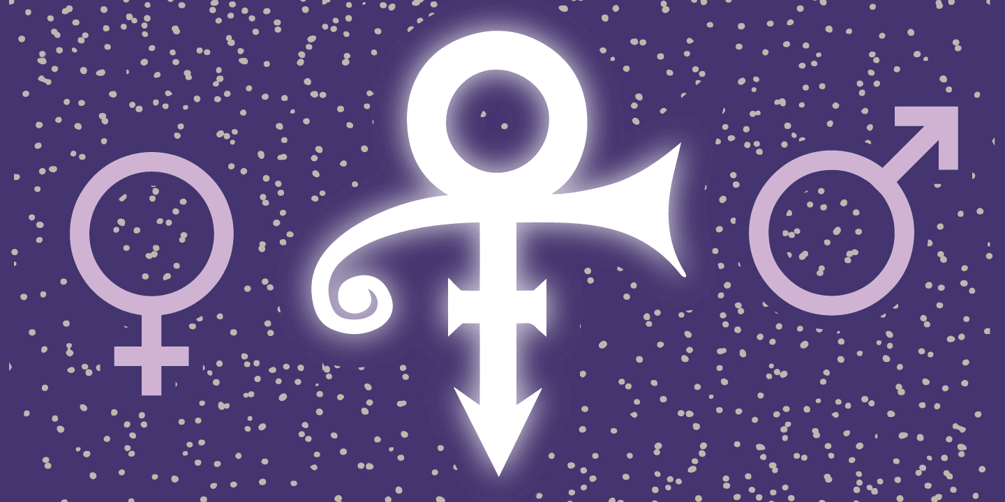 the higher meaning behind prince s love symbol the fader. Black Bedroom Furniture Sets. Home Design Ideas