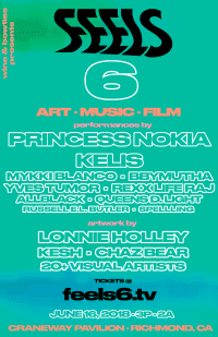 Kelis and Princess Nokia to headline Bay Area music and art exhibition FEELS 6