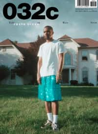 Check out Frank Ocean's 032c cover, shot by Petra Collins