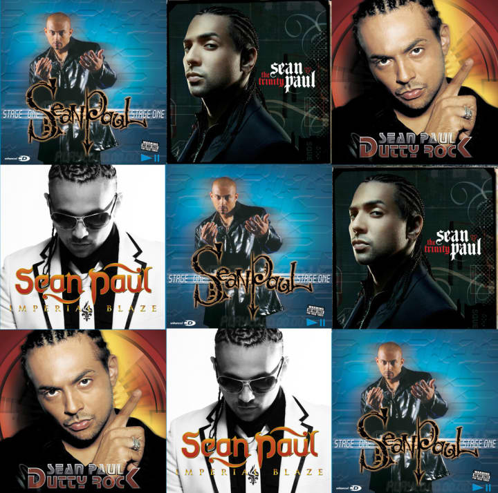 This Award-Winning Novelist Used To Design Sean Paul Album Covers