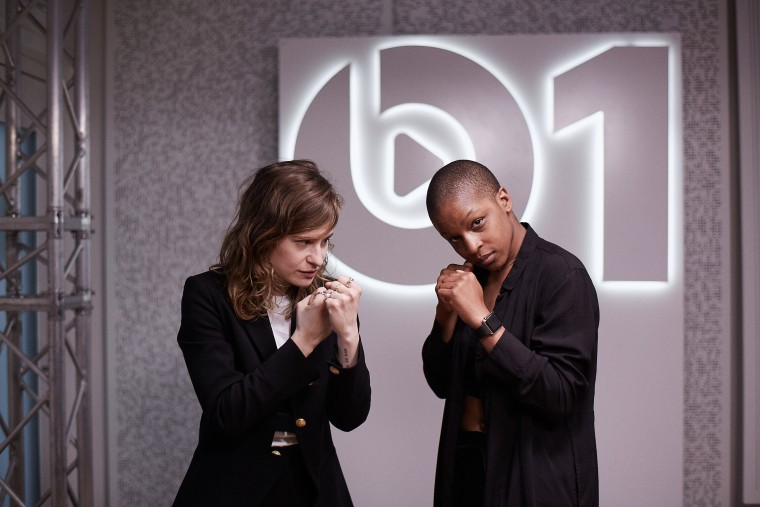 """You Need To Hear Christine And The Queens Rap Over """"Panda"""" In French"""