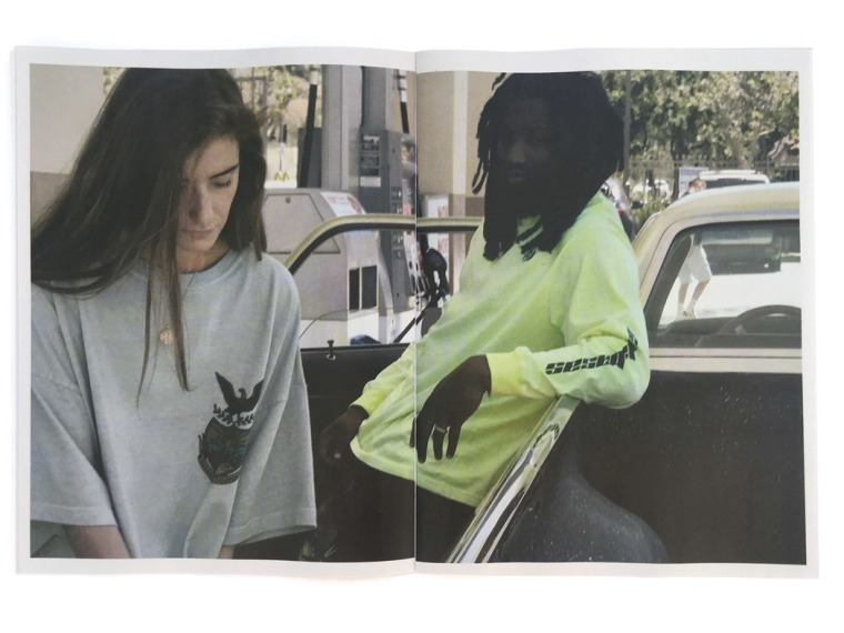 Take a look at Kanye West's newly released Calabasas zine