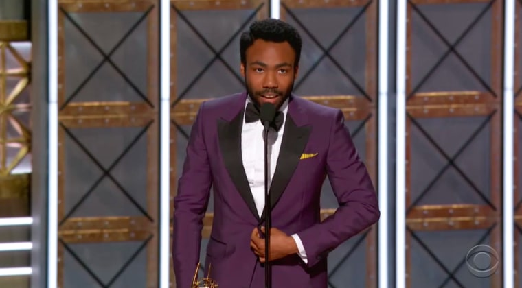Donald Glover Becomes First Black Person To Win Best Directing For A Comedy Series At The Emmys