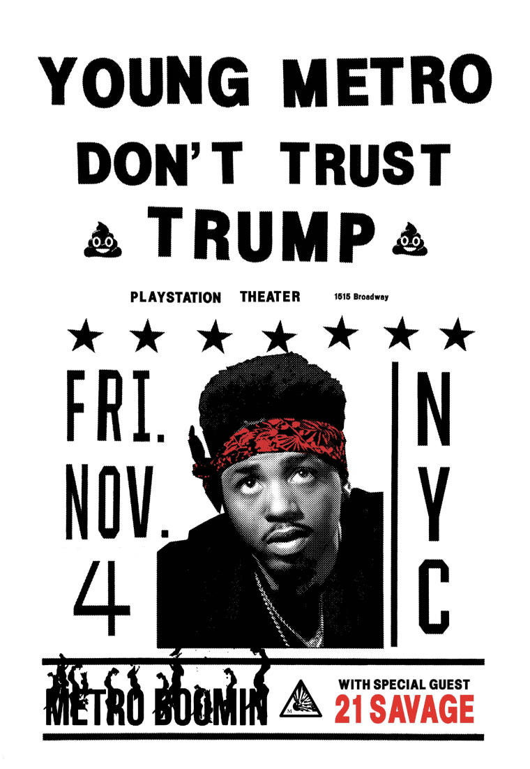 21 Savage Joins Metro Boomin's Young Metro Don't Trust Trump Concert