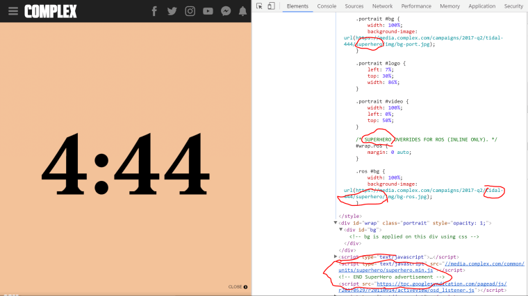 TIDAL Is Running Mysterious 4:44 Ads And Some Fans Think They're Promoting A New Jay Z Album
