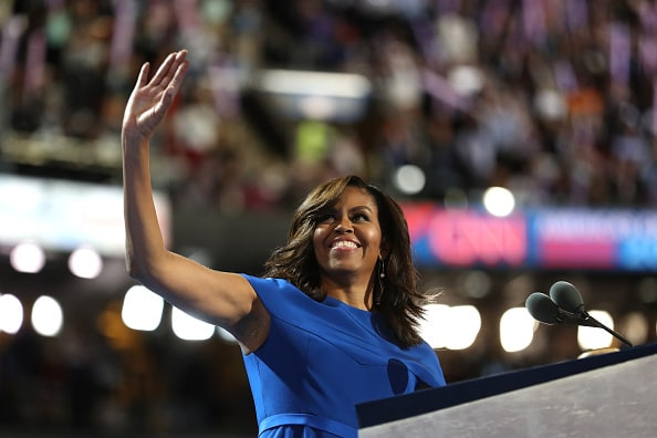 Michelle Obama Spoke At The DNC And Everyone Wishes They Could Vote For Her