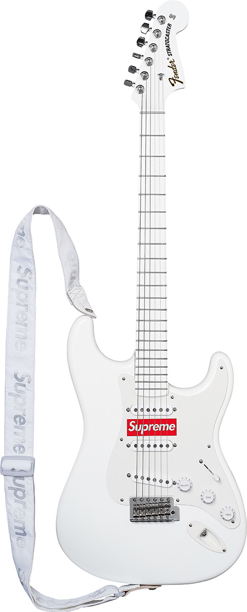 Supreme And Fender Collaborated On An Electric Guitar