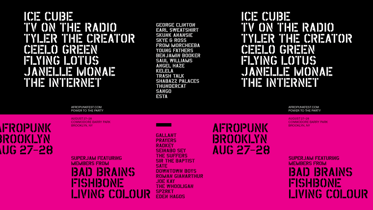 Afropunk 2016 Lineup Includes Ice Cube, Janelle Monae, The Internet, And More