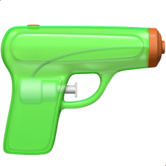 Apple Is Replacing The Pistol Emoji With A Water Gun