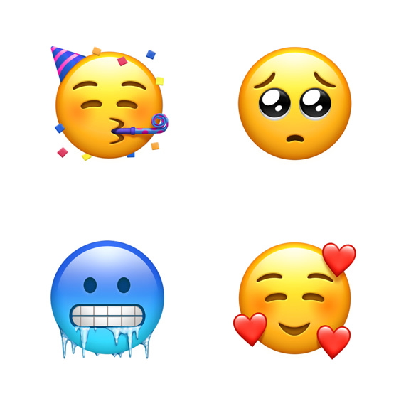 Here are the 70 new emojis coming to Apple devices this fall