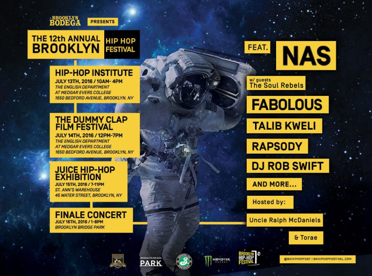 The Brooklyn Hip-Hop Festival Is Here And Is Ready To Be A Safe Space