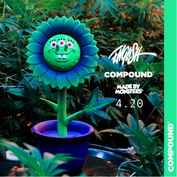The Compound's Set Free announces new line of weed-themed toys