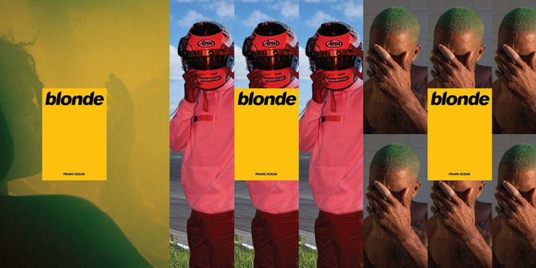 Here Are All The Contributors On Frank Ocean's Physical <i>Blond</i> Album