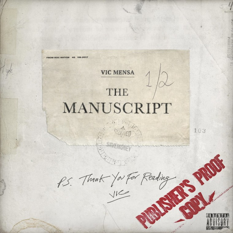 Listen To Vic Mensa's <i>The Manuscript</i> EP