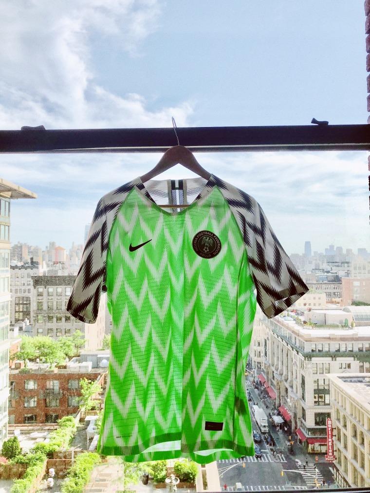 How Nike turned Nigeria's World Cup kit into a fashion phenomenon