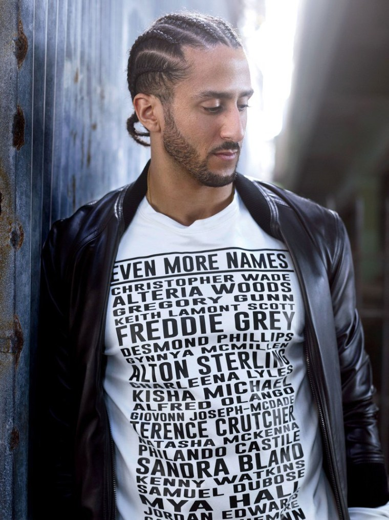 "Pyer Moss is the designer behind Colin Kaepernick's ""Even More Names"" tee"