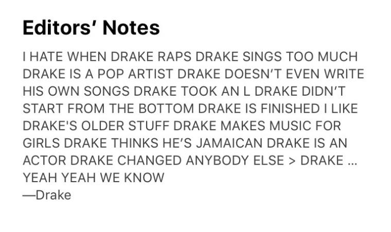 Drake's <i>Scorpion</i> is here