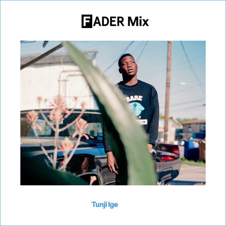 FADER MIX: Tunji Ige