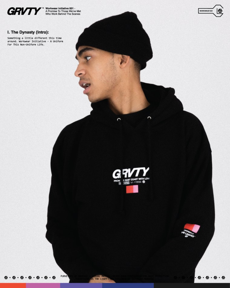 GRVTY's new drop is designed for creatives on the quiet grind