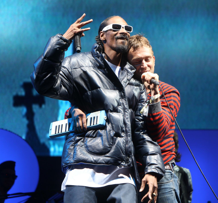 Gorillaz are putting out a new album soon, and Snoop Dogg's on it