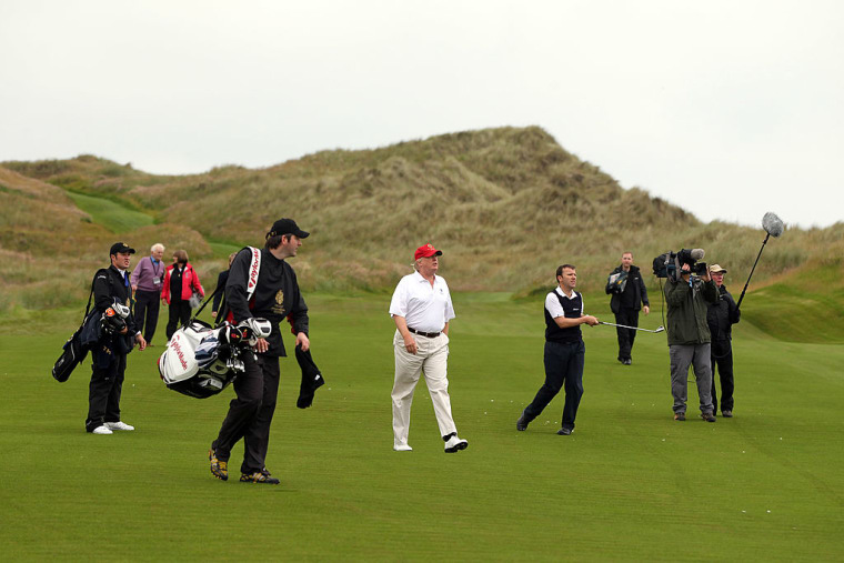 Trump Has Spent A Fifth Of His Time As President At One Of His Golf Courses