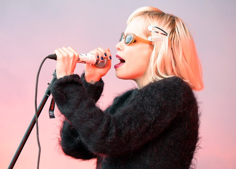 Former Crystal Castles singer Alice Glass alleges abuse by bandmate