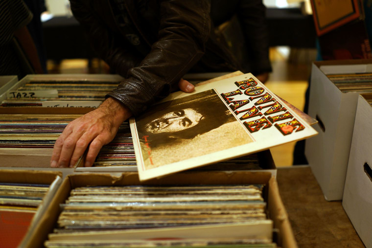 2017 was the highest year for vinyl sales since 1991