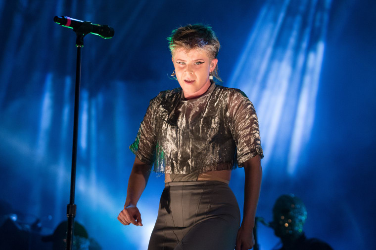 "Hear A New Robyn Song, ""Love Is Free"""