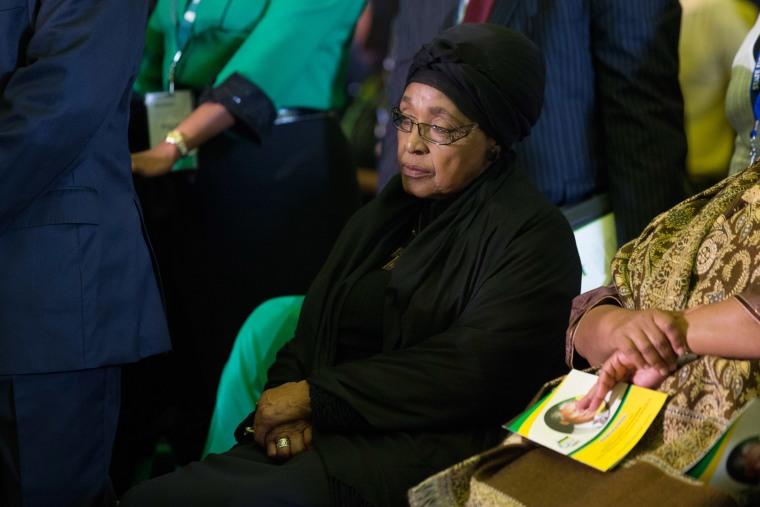 Winnie Mandela, activist and widow of Nelson Mandela dies at 81